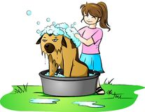 день ванны Стоковое фото RF
