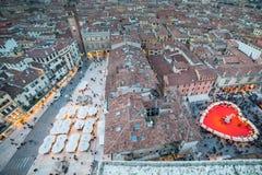 День валентинки в Вероне, Италии Стоковые Фотографии RF