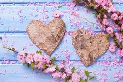 День валентинки или предпосылка влюбленности Стоковое фото RF