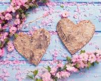 День валентинки или предпосылка влюбленности Стоковые Фотографии RF
