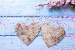 День валентинки или предпосылка влюбленности Стоковое Фото