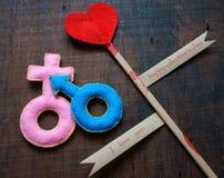 День валентинки, 14-ое февраля Стоковые Изображения