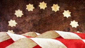 День ветеранов флаг США Стоковые Фотографии RF