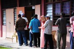 День выборов всеобщих выборов 2013 Малайзии 13th Стоковые Изображения