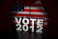 День выборов США 2012 Стоковое Изображение RF