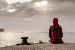 День в озере Стоковое Изображение
