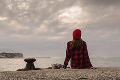 День в озере Стоковое Фото