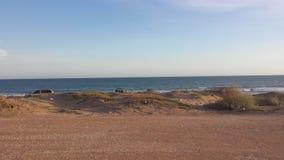 День в пляже Стоковая Фотография