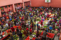 День в рынке Chichicastenango Стоковое Изображение