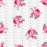 День, влюбленность и цветки StValentine Стоковые Фото