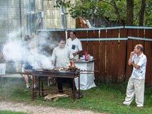 День деревни в зоне Kaluga России Стоковые Изображения RF