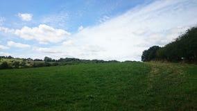 День лета в сельской местности Стоковое фото RF