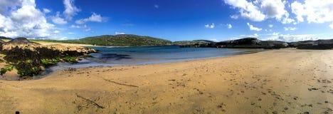 День лет на пляже Derrynane, Керри Ирландии графства Стоковые Изображения