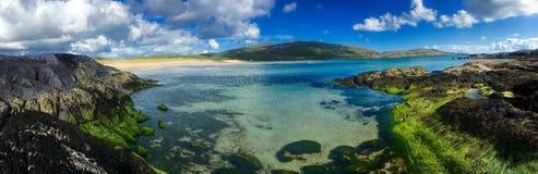 День лет на пляже Derrynane, Керри Ирландии графства Стоковая Фотография