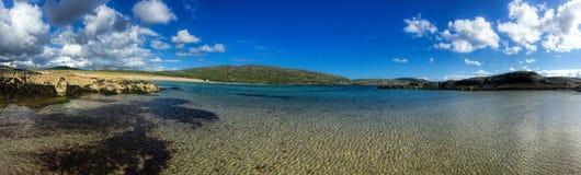 День лет на пляже Derrynane, Керри Ирландии графства Стоковые Фотографии RF