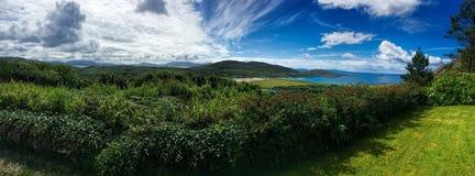 День лет на пляже Derrynane, Керри Ирландии графства Стоковые Изображения RF