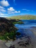День лет на пляже Derrynane, Керри Ирландии графства Стоковое фото RF