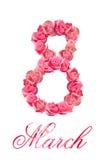 День женщин 8-ого марта Стоковые Изображения
