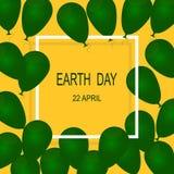 День земли 22-ое апреля Стоковые Изображения RF