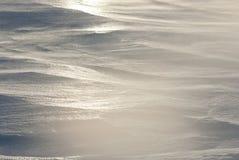 День зимы Snowpack на приантарктических островах. Стоковая Фотография RF