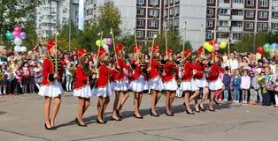 День знания в России Стоковые Изображения