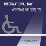 День инвалидности мира Стоковое Фото