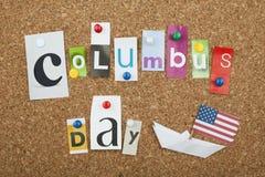 День Колумбуса Стоковое фото RF
