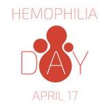 День кровоточивости 17-ое апреля также вектор иллюстрации притяжки corel Стоковая Фотография RF