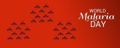 День малярии мира Стоковое фото RF