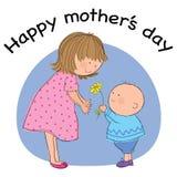 День матерей иллюстрация штока