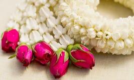 День матери, жасмин гирлянды Стоковая Фотография