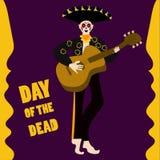 день мертвый иллюстрация штока
