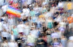 День мира, в преднамеренной нерезкости движения Стоковая Фотография RF