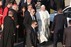 День молодости мира 2016 - Папа Фрэнсис стоковые фото