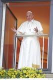 День молодости мира 2016 - Папа Фрэнсис стоковая фотография rf