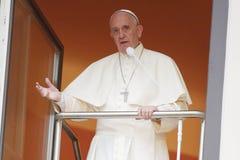 День молодости мира 2016 - Папа Фрэнсис стоковые изображения