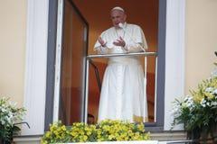 День молодости мира 2016 - Папа Фрэнсис Стоковые Фотографии RF