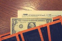 День 21 налога стоковое фото rf