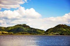 День на реке Стоковые Изображения RF