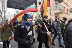 День независимости Литвы Стоковые Фотографии RF