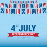 День независимости 4-ое июля независимость дня счастливая Стоковые Изображения