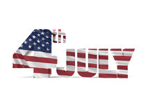 День независимости 4-ое июля Стоковое Изображение