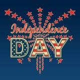 День независимости США Иллюстрация вектора