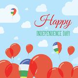 День независимости Центральноафриканской Республики плоский бесплатная иллюстрация