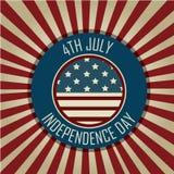 День независимости иллюстрация вектора