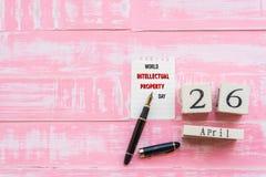 День 26-ое апреля интеллектуальной собственности мира, Стоковые Изображения