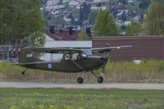 День 11-ое мая 2014 полета на Kjeller (airshow) Стоковые Изображения