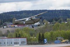 День 11-ое мая 2014 полета на Kjeller (airshow) Стоковое Изображение RF