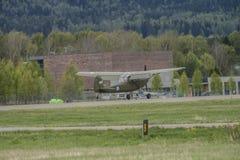 День 11-ое мая 2014 полета на Kjeller (airshow) Стоковые Фотографии RF