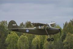 День 11-ое мая 2014 полета на Kjeller (airshow) Стоковое Изображение